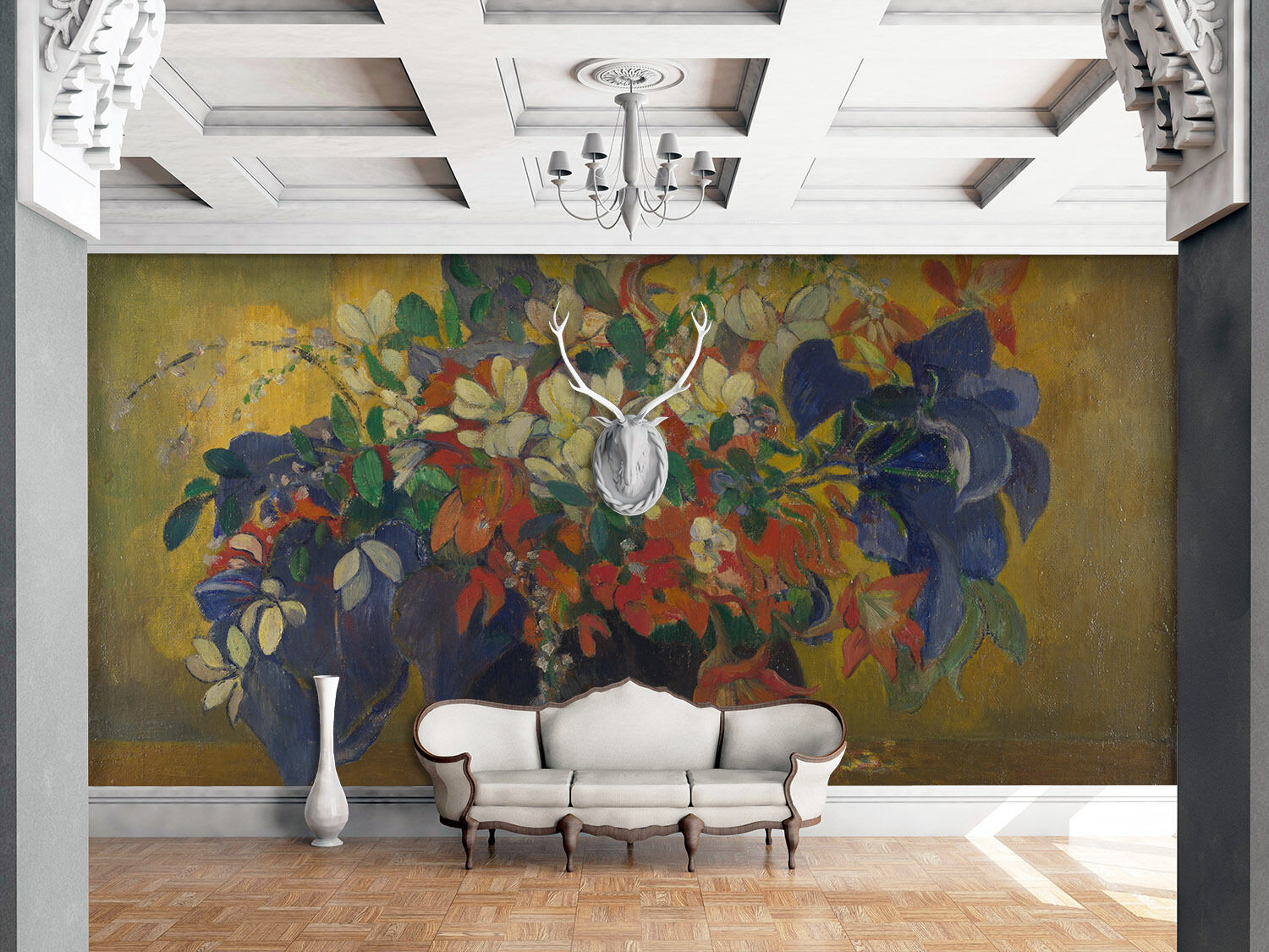 3D Painted Bouquets 41 Paper Wall Print Wall Decal Wall Deco Indoor Murals
