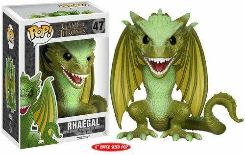 Rhaegal 6 Inch Vinyl Figure Item #4851 Funko Pop Game of Thrones