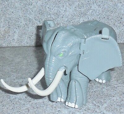 Transformers Beast Wars IRONHIDE Elephant Magnaboss Figure Missing Maces