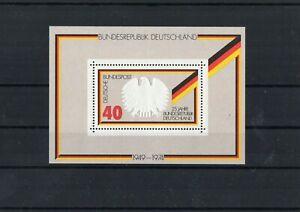 BRD-Block-10-25-Jahre-Bundesrepublik-Deutschland-1974-Postfrisch