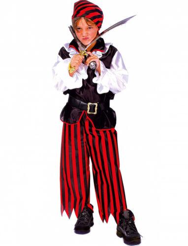 Costume Jack il Pirata Bucaniere Tg da 5 a 14 anni