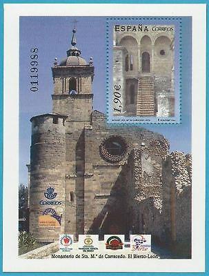 Nett Spanien Aus 2004 ** Postfrisch Block 135 Minr.3935 Architektur Kloster Santa Maria!