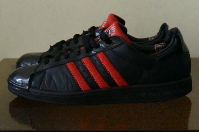 Adidas Star Wars Superstar LTO Dark Side G12435 Black Red Sz 10.5