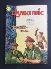► DYNAMIC  - N°154 - L'INCONNU DU STROMBOLI  -  1965 - TBE