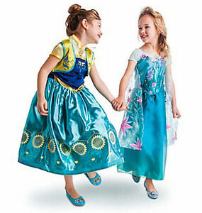 Congele-fievre-Anna-Elsa-Princesse-Fantaisie-Costume-Party-dress2-3-4-5-6-7-8-9-10-150