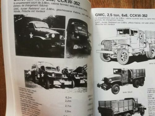 1940-1945 bible 6X6 USA WW2 militaria CADEAU NOEL GMC 352 353 CCKW BECKER