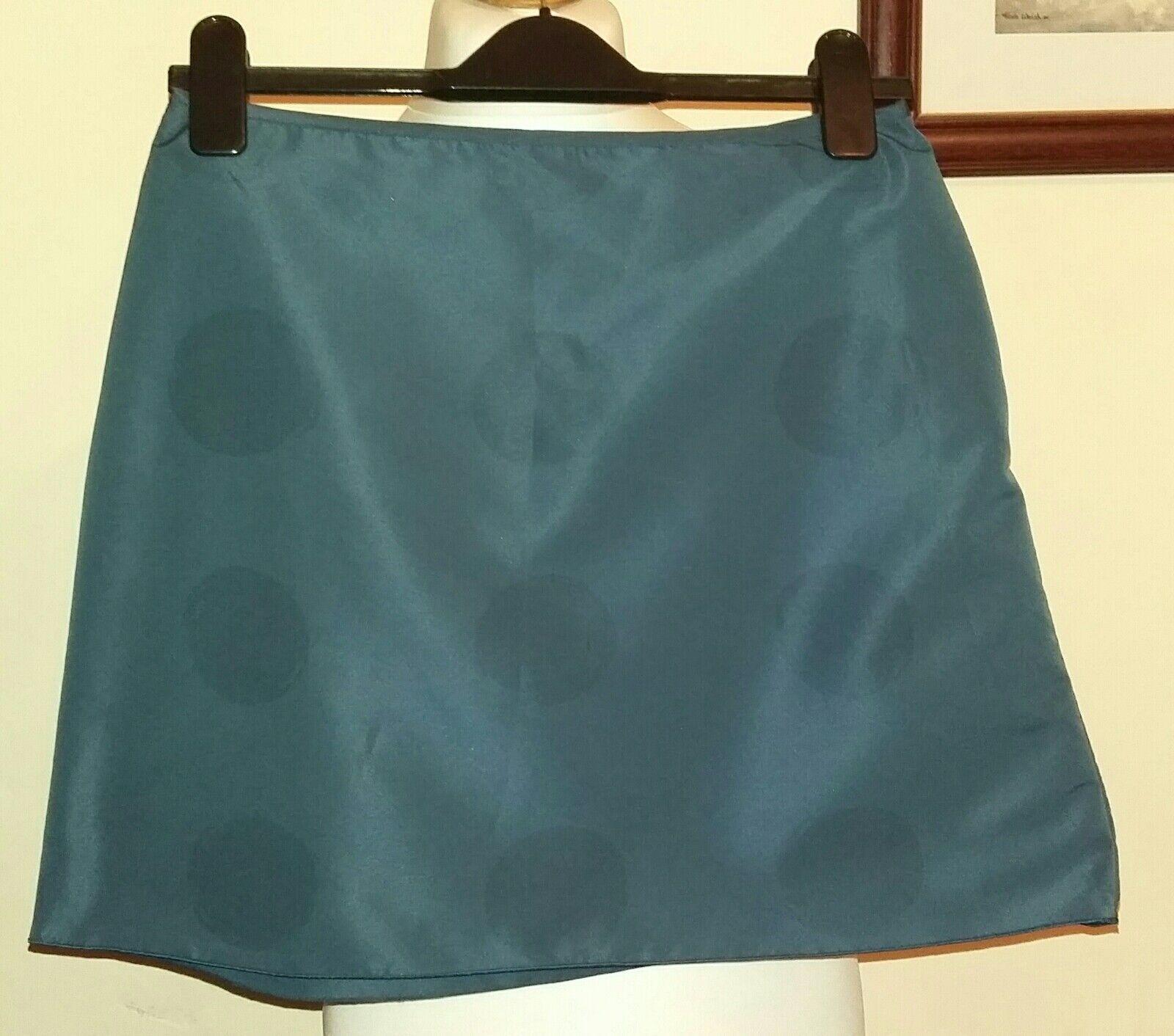 MARNI Mini Skirt Dotted Navy Ita 42