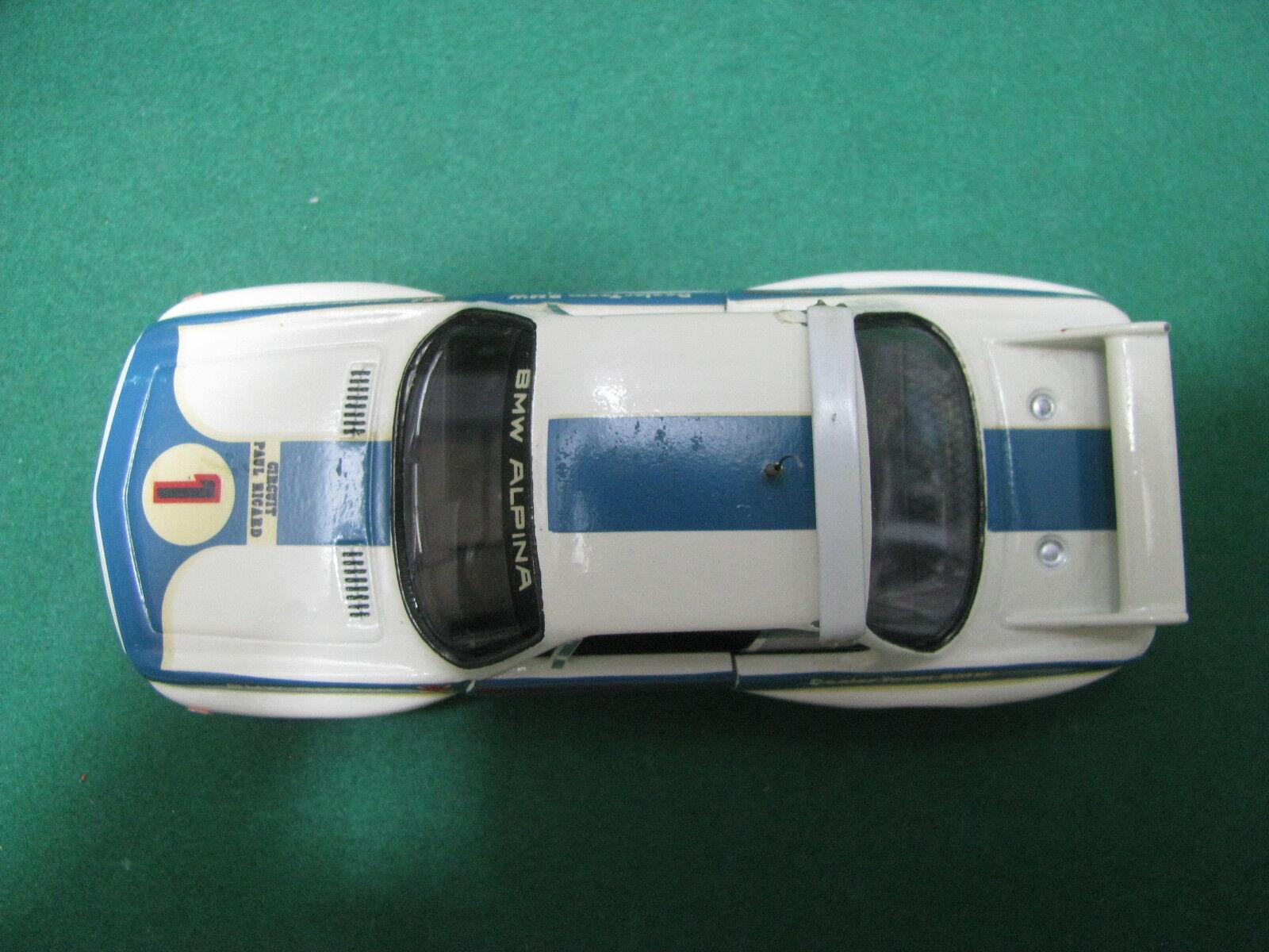 Vintage - - - BMW 3000 CLS Team bmw Alpina - 1 43 Processing Solido 1974 37f761