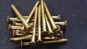 100 Holzschrauben Senkkopf DIN 97 Messing 1.6-2.0-2.5-3.0