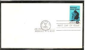 US-SC-1438-Drug-Abuse-FDC-No-Cachet