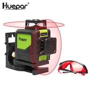 Niveau Laser professionnel Huepar 902CR 360 degrés Ligne Cruz ... 220a678ddb69