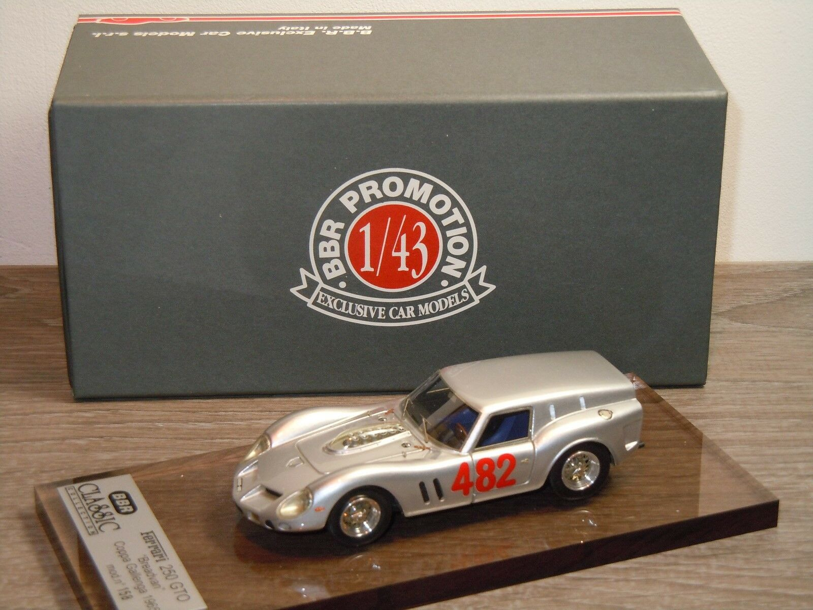 Ferrari 250 Breadvan Coppa Gallenga 1965 - BBR Models  in Box 34955