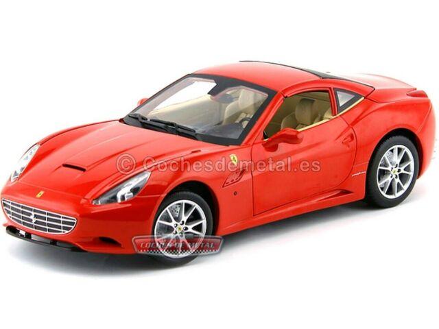 1 18 Hot Wheels Ferrari California With Removable Hardtop Red Günstig Kaufen Ebay
