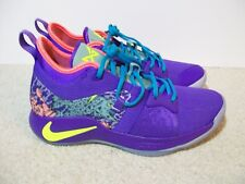 8e67645fd6e5 VNDS SZ 9 Nike PG 2 II MM Mamba Mentality Day Purple Venom AO2986-001 PS4  Kobe