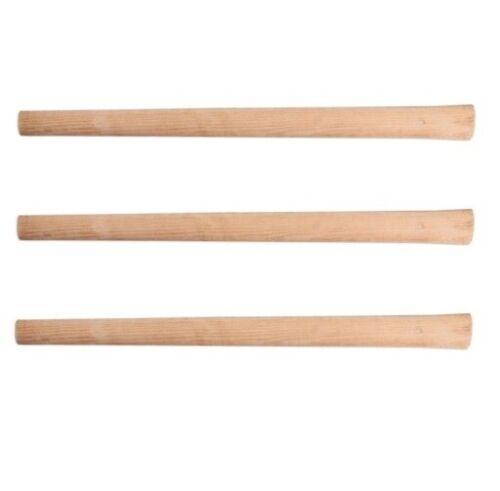 3x Spitzhackenstiel 90cm Kreuzhackenstiel 2,5kg Spitzhacke Stiel Holzstiel PROFI