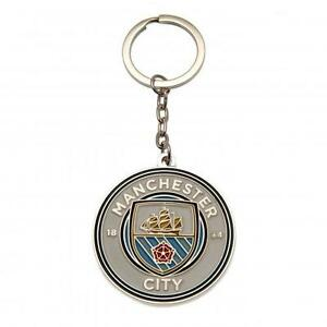 Manchester City FC Official Metal Crest Keyring Brand New - <span itemprop=availableAtOrFrom>Irthlingborough, Northamptonshire, United Kingdom</span> - Manchester City FC Official Metal Crest Keyring Brand New - Irthlingborough, Northamptonshire, United Kingdom