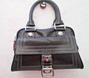 Et À Vintage Sac Versace Bag Mignon Main Cuir Authentique R7ntPdxn