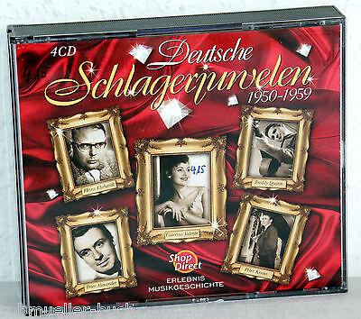 4 CD-Box - Deutsche SCHLAGERJUWELEN 1950-1959