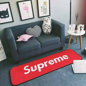 SUPREME Carpet Mat Bedroom Living Room Non-Slip Floor Mats Area