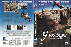 YAMAKASI-I-NUVI-SAMURAI-2001-dvd-ex-noleggio