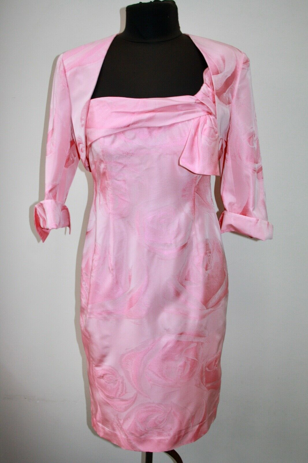 Ispirato Mother of the Bride Outfit, Rose Jacquar, Size 10, Immaculate Condition