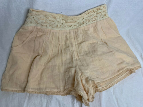 Free People Boho Hippie Gypsy Shorts Size M