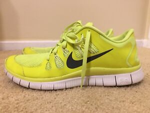 a1392de7db7a Image is loading NIKE-FREE-5-0-579959-701-Volt-Dark-