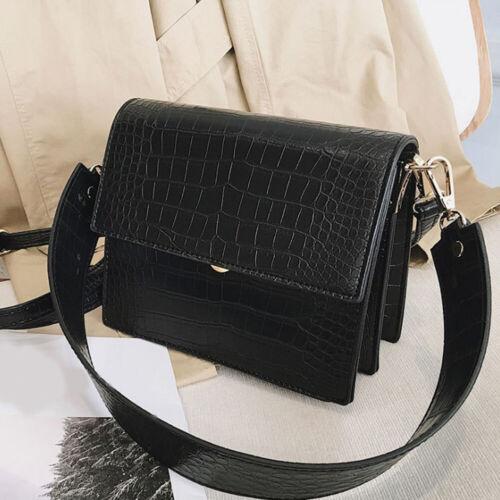 Crocodile Women Handbag PU Leather Shoulder Lady Bag Crossbody Messenger totes