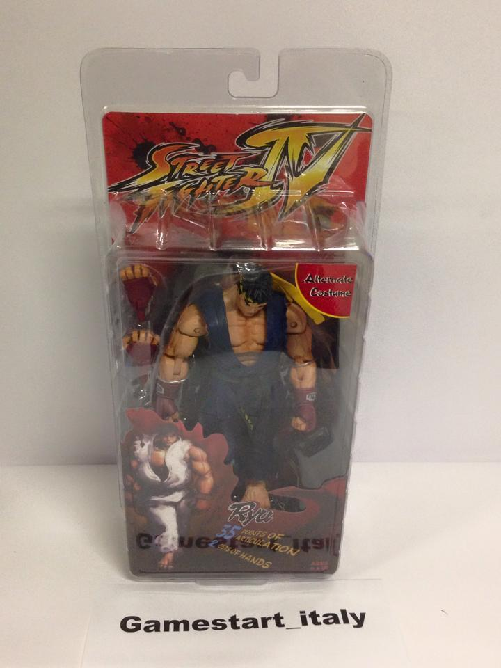 ACTION ACTION ACTION FIGURE - STREET FIGHTER IV - RYU - NECA - NUOVO NEW 8048a2