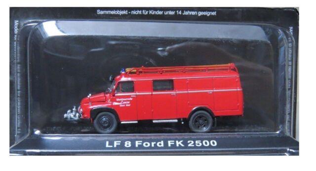 Lf8 Borgward B 2500 a//o Vigili del Fuoco Oldtimer Fire Engine 1:72 IXO ALTAYA