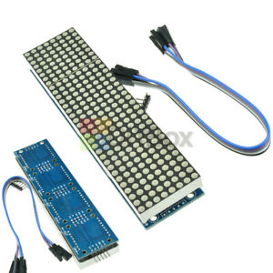 MAX7219 LED Display Dot led Matrix MCU Control Module for Arduino Raspberry Pi