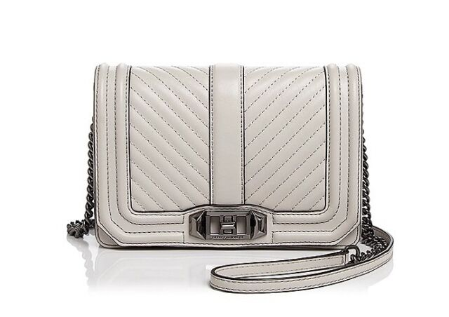 481e54b4d Rebecca Minkoff Geo Quilted Love Crossbody Moon for sale online | eBay