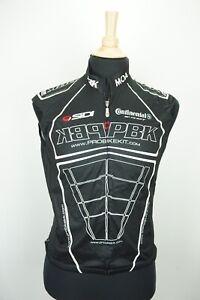 MOA Bicycle Cycling Sleeveless Black Top Jersey Made Italy PBK Mens Sz M