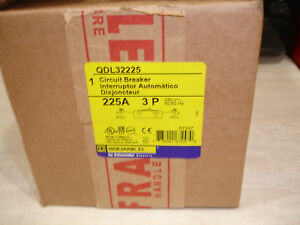 New-Square-D-QDL32225-equal-to-Q2L3225H-QBL32225-225-amp-Circuit-Breaker-25KA