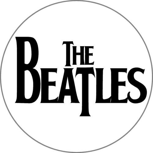 2 X Qté les Beatles Rond Autocollant-Imprimé Autocollant-Choix de Tailles