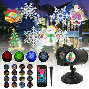 Details About Christmas Led Laser Projector Lights Le Garden Outdoor Decorations Rotating