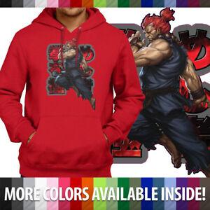 db90487e82c8 Master of Ryu Akuma Gouki Street Fighter Pullover Hoodie Jacket ...