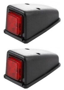 2 x 12V//24V SMD LED Kennzeichenbeleuchtung Nummernschild Beleuchtung Lampe Leuchte Licht LKW Anh/änger Wohnmobil Wohnwagen Bus