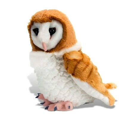 "BRAND NEW PLUSH SOFT TOY 13466 Cuddlekins Barn Owl - 12"" / 30cm Wild Republic"