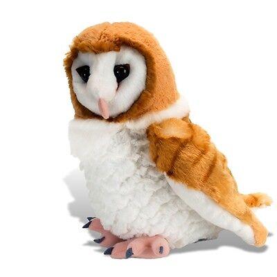 "*BRAND NEW* PLUSH SOFT TOY 13466 Cuddlekins Barn Owl - 12"" / 30cm Wild Republic"