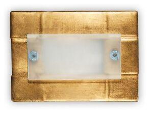 Applique di murano atena foglia oro ebay