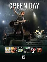 Green Day Anthology Sheet Music Piano Vocal Guitar Songbook 000701719