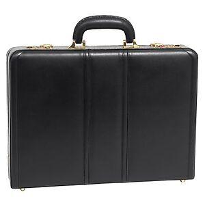 attachékoffer zwart 642154804358 Mcklein Daley Usa 80435 lederen qYnwYtTzH