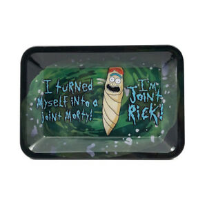 Premium Rolling Tray Rick And Morty Quot Joint Rick Quot 7 Quot X5 5