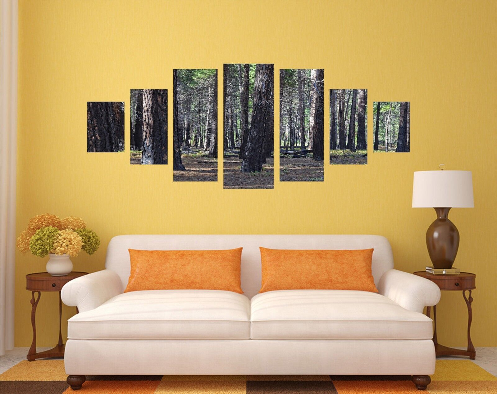 3D Forest Tree 5248 Unframed Print Wall Paper Decal Wall Deco Indoor AJ Wall