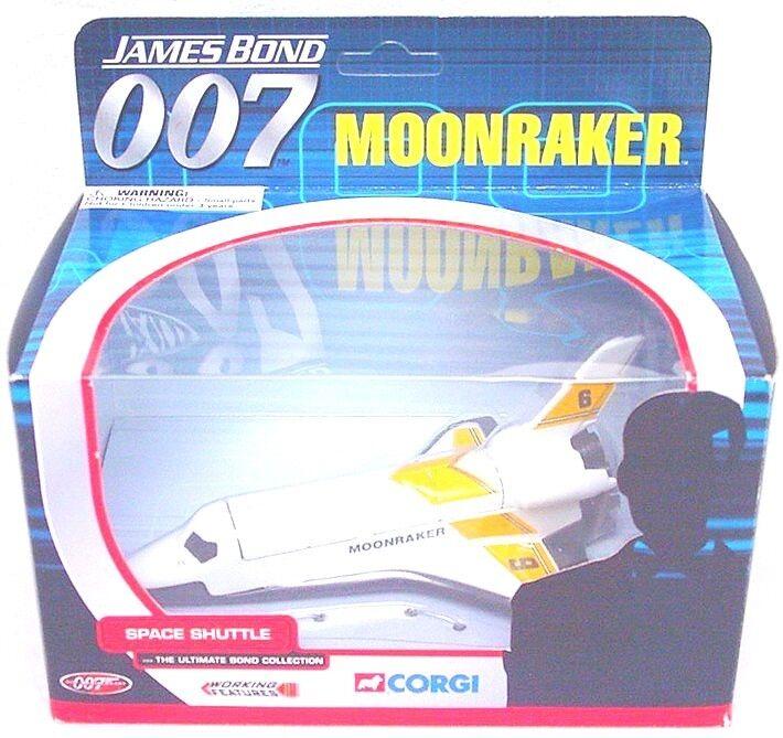 Corgi Toys de James Bond 007  Moonraker 6  transbordador espacial CC04001 1st MIB. Ed Raro