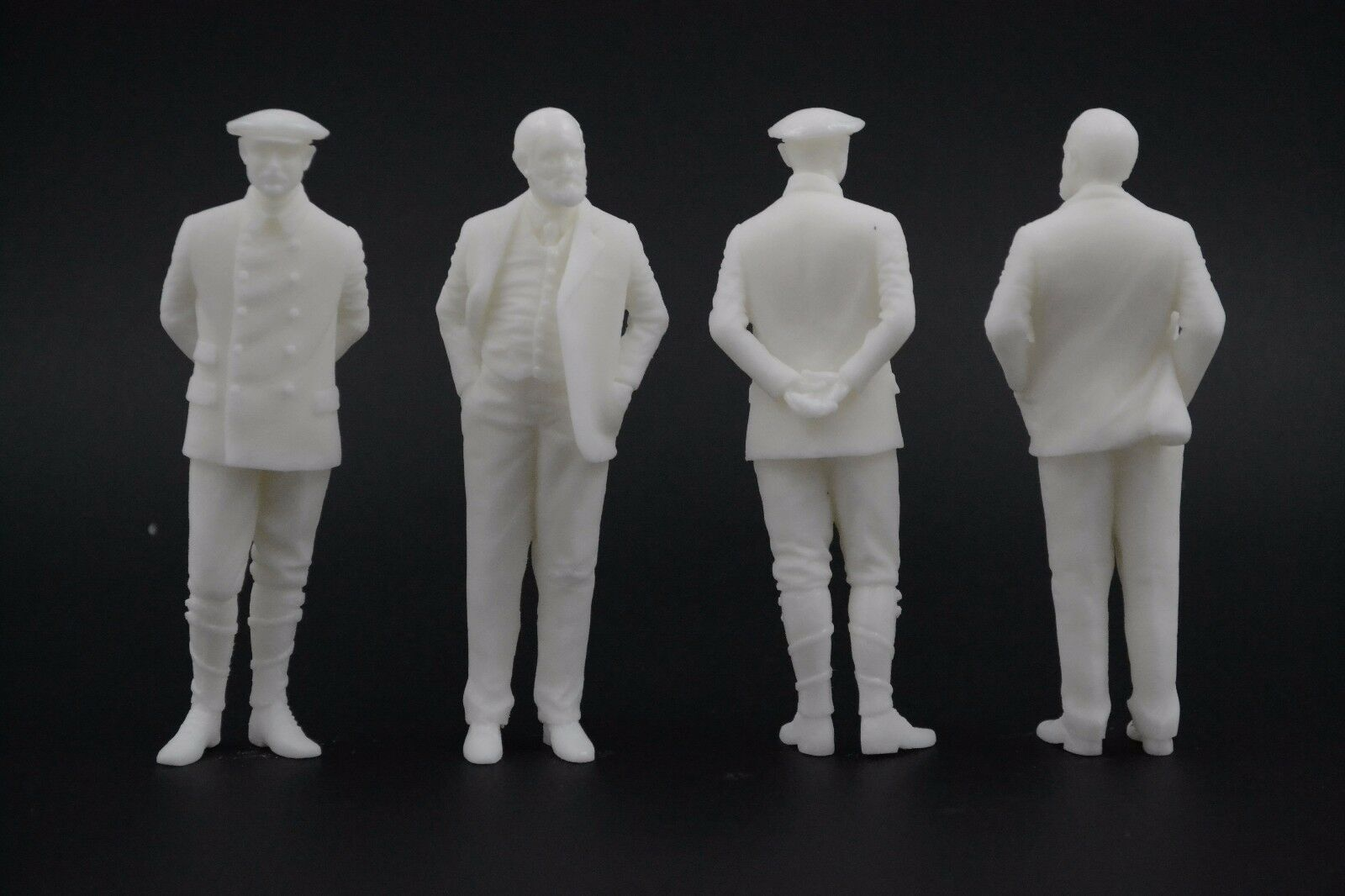 Charles Rolls & Henry Royce figuras para 1 18 Rolls-Royce neo