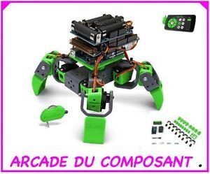 Kit Robot Allbot A 4 Pattes (ref 35024-1) Velleman Vr408