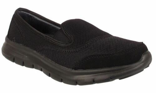 Girls back to school shoes Womens Slip On Ladies Trainers UK Size 3 4 5 6 7 8