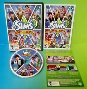 Sims-3-Ambitions-Windows-Mac-Mac-and-Windows-Complete-with-Key-Code-amp-Manual